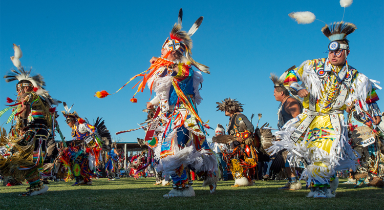 USA Montana North American Indian Days Foto Montana Office of Tourism