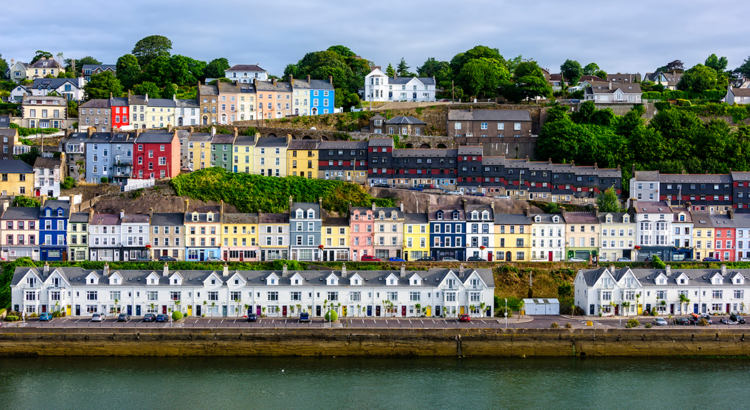 Irland Cobh in Cork County