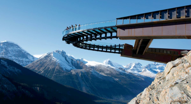 Kanada Alberta Jasper Nationalpark Glacier Skywalk Foto Glacier Skywalk.jpg