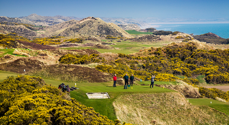 Irland Royal County Down Golf Course