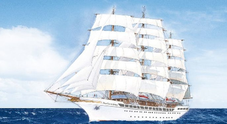 Sea Cloud Spirit Totale Foto Sea Cloud Cruises