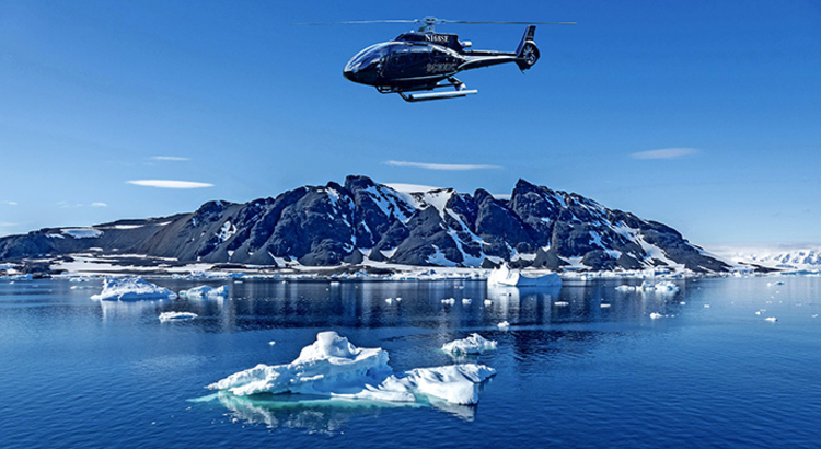 airtours Scenic Eclipse Helikopter foto Airtours