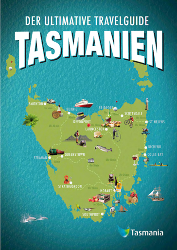 Travel Guide Tasmanien Foto Tourism Tasmania